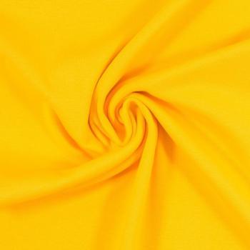 Bündchen Heike Strickschlauch gelb