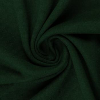 Bündchen Heike Strickschlauch dunkelgrün