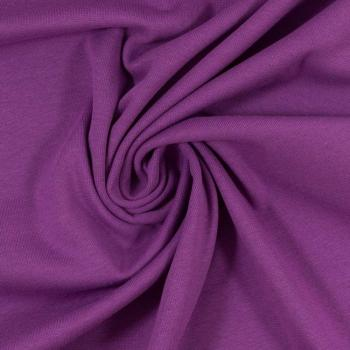 Bündchen Heike Strickschlauch lila