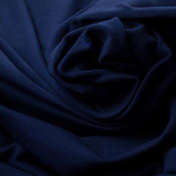 Uni Baumwolljersey Vanessa dunkelblau